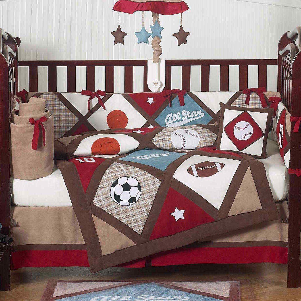 Kids sports bedding sets sports bedding sets for boys stars