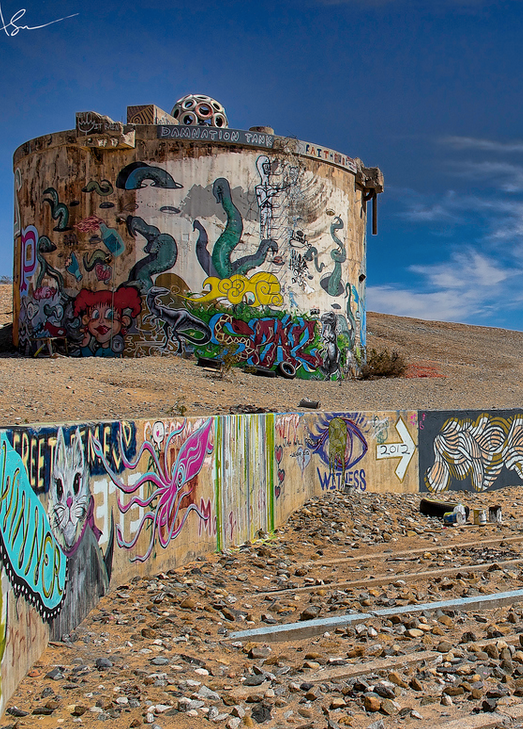 Slab City California Slab City Spooky Places Day Trips