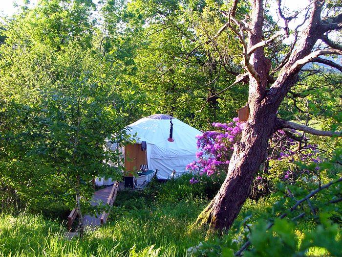 Secret Garden Yurt.