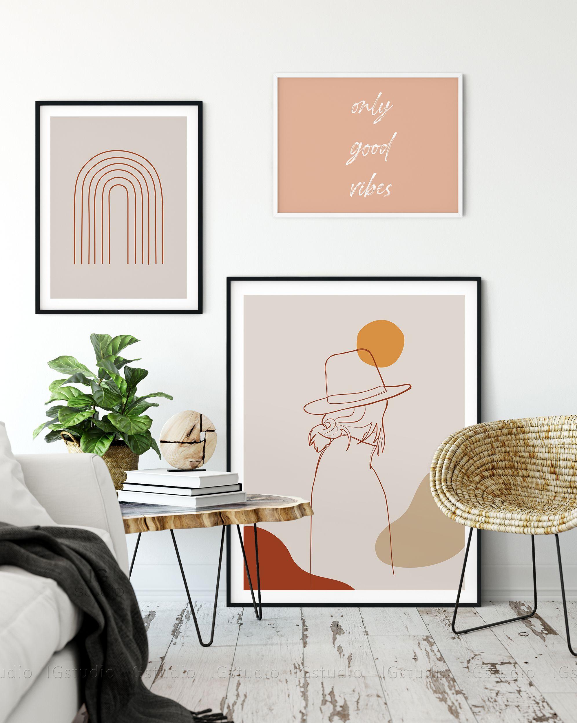 Woman Line Art Print One Line Drawing Minimalist Line Art Etsy Hallway Art Wall Decor Printables Fashion Wall Art