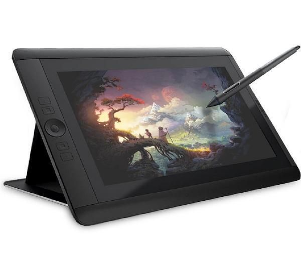 Wacom Tablette Graphique Bamboo Fun Pen Touch Small Tablette