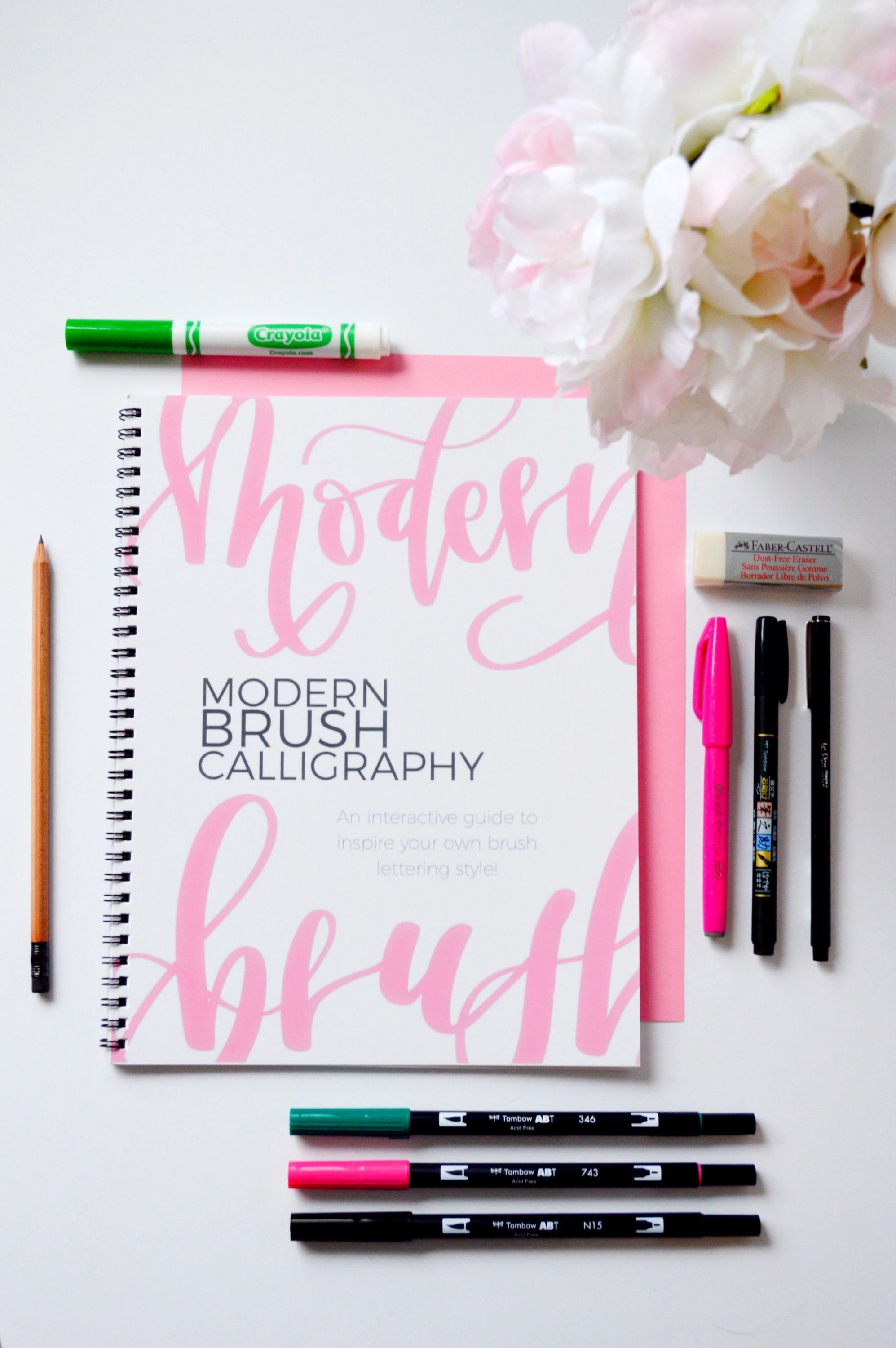 Learn Brush Calligraphy With The T Of Lettering