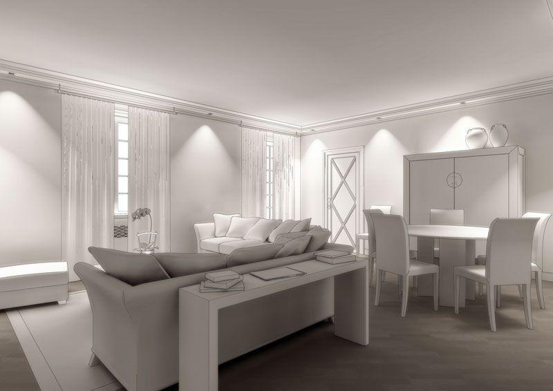 Rendering Soggiorno ~ Eidomatica rendering soggiorno living room rendering interior