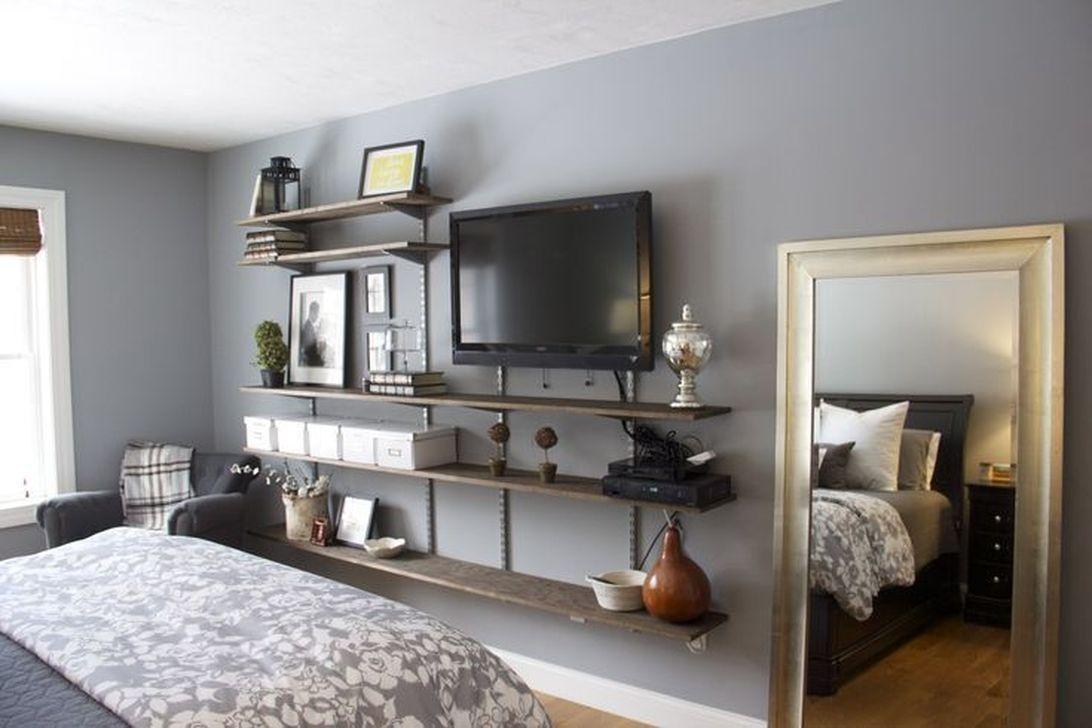 Inspiring Bedroom Tv Wall Design Ideas 09 Bedroom Tv Wall Living Room Tv Stand Bedroom Tv Stand