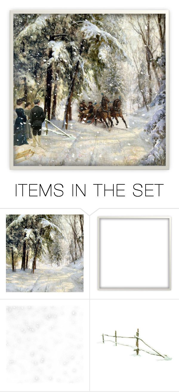 """Sledding party"" by pati777 ❤ liked on Polyvore featuring art"
