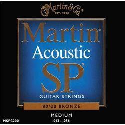 Martin Strings - Acoustic SP 80/20 Medium Bronze MSP3200