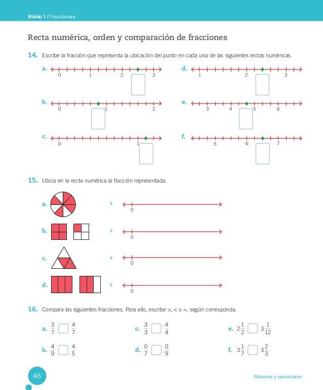 Cuaderno Actividades Matemática 5º Actividades De Matematicas Ejercicios De Fracciones Actividades De Fracciones