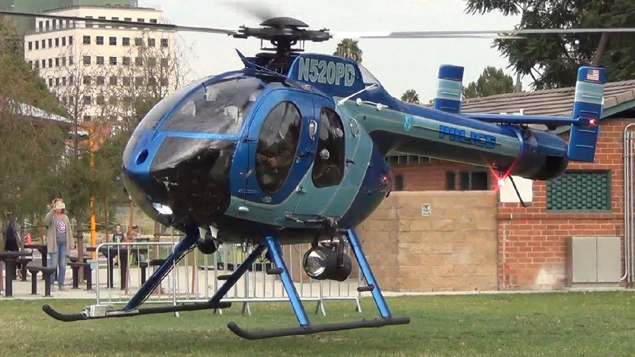 Burbank PD's NOTAR Departing Johnny Carson Park