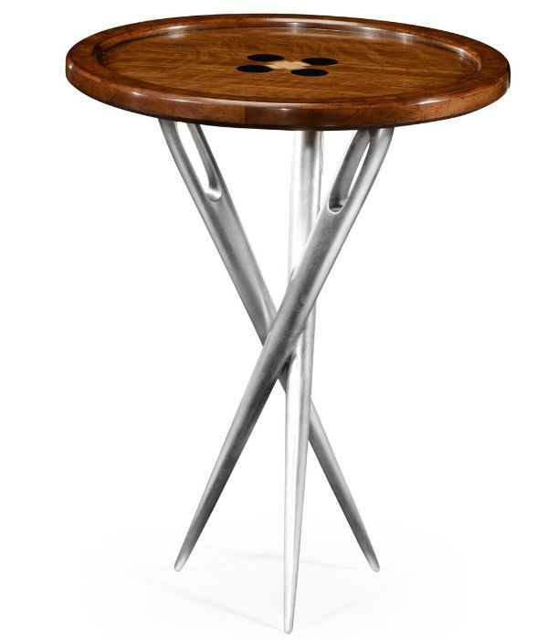 """Cute As A Button"""" Side Table  Products  Pinterest  Products Magnificent Alexander Julian Dining Room Furniture Review"""