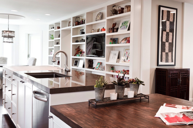 Client's custom kitchen