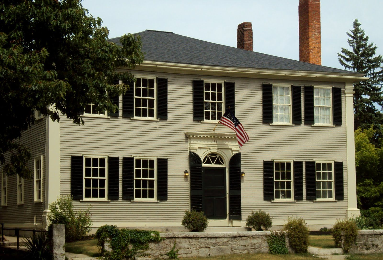 Early American style home Our future home Pinterest Early