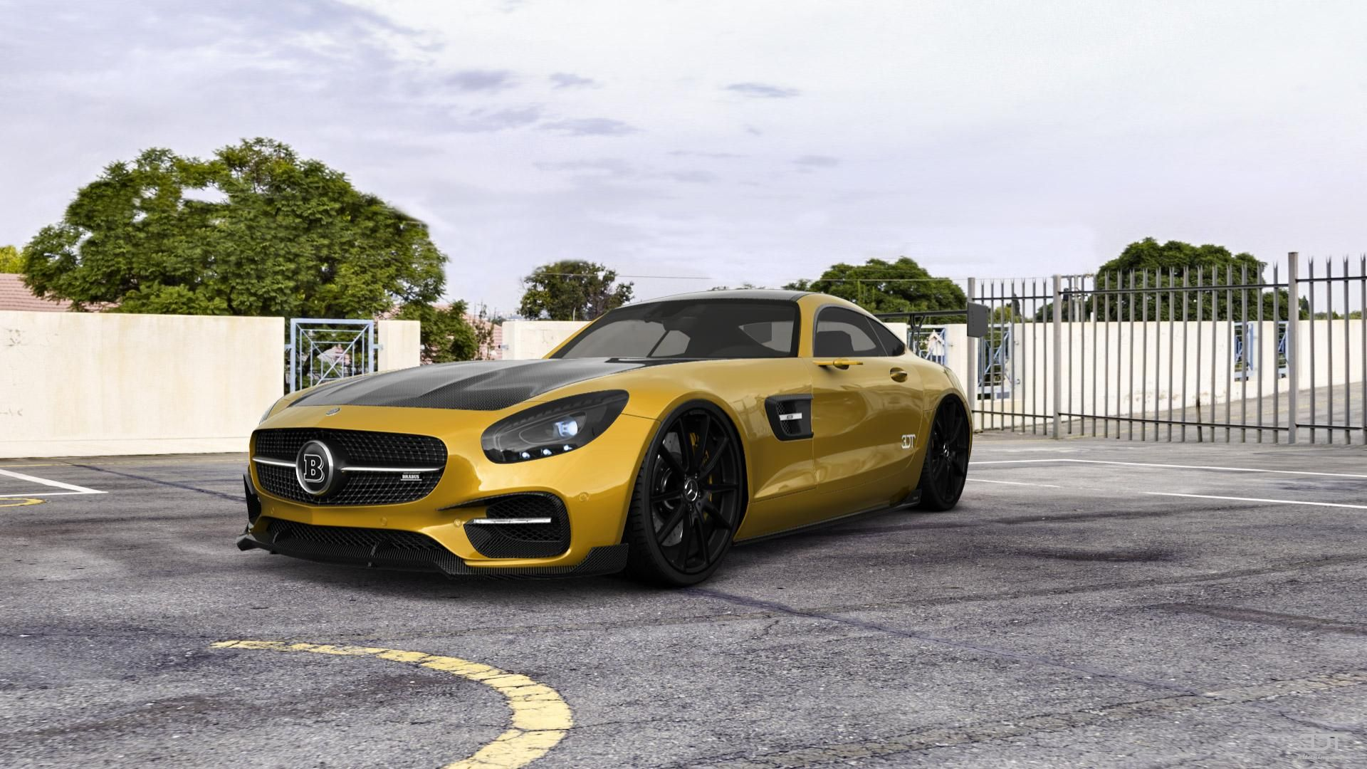 Checkout my tuning Mercedes AMGGT 2016 at 3DTuning 3dtuning tuning