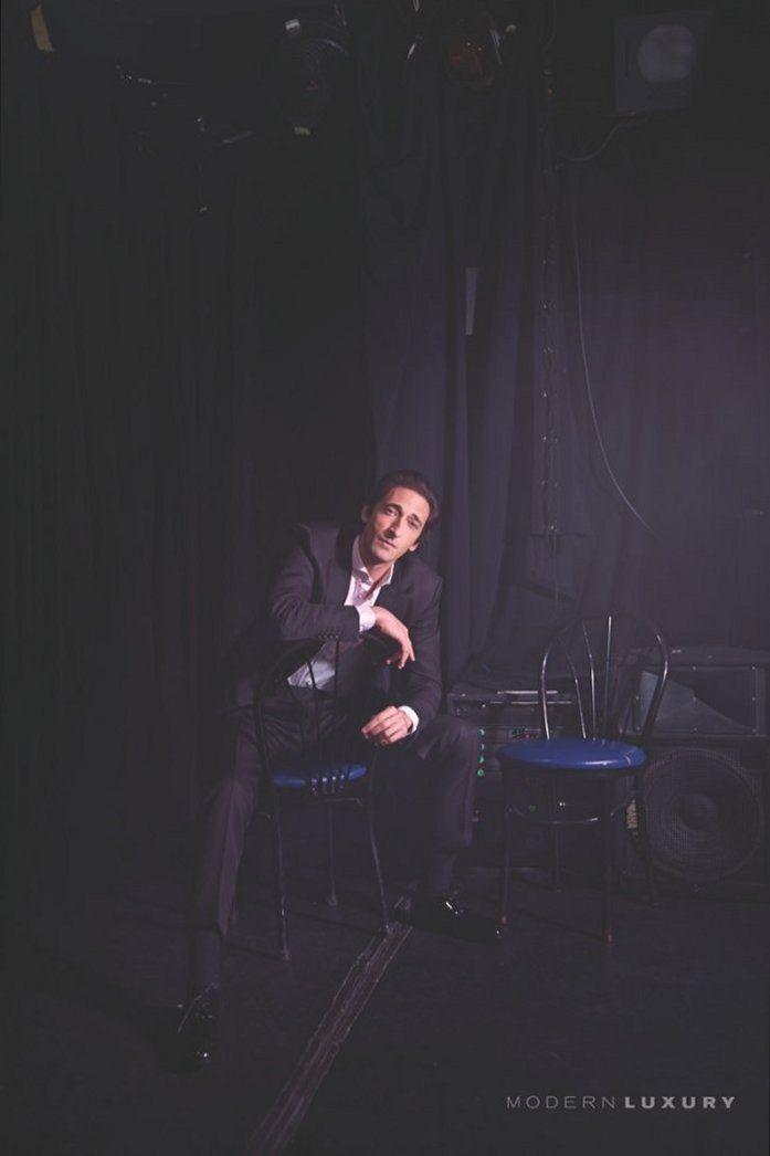 Adrien Brody for Manhattan, April 2014