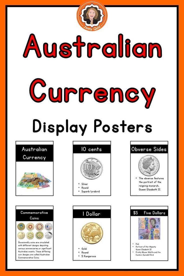 Money Posters Australian Currency Australian money, Math