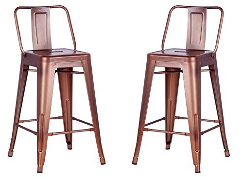 Beautiful 24 Bar Stools with Backs