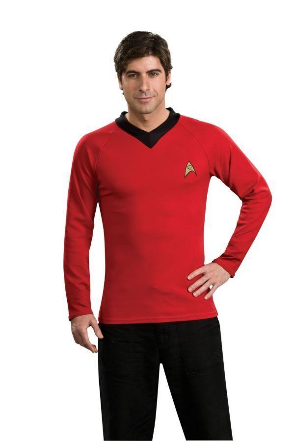 STAR TREK CLASSIC RED SHIRT  sc 1 st  Pinterest & Star trek classic red shirt | Products | Pinterest | Star trek Trek ...
