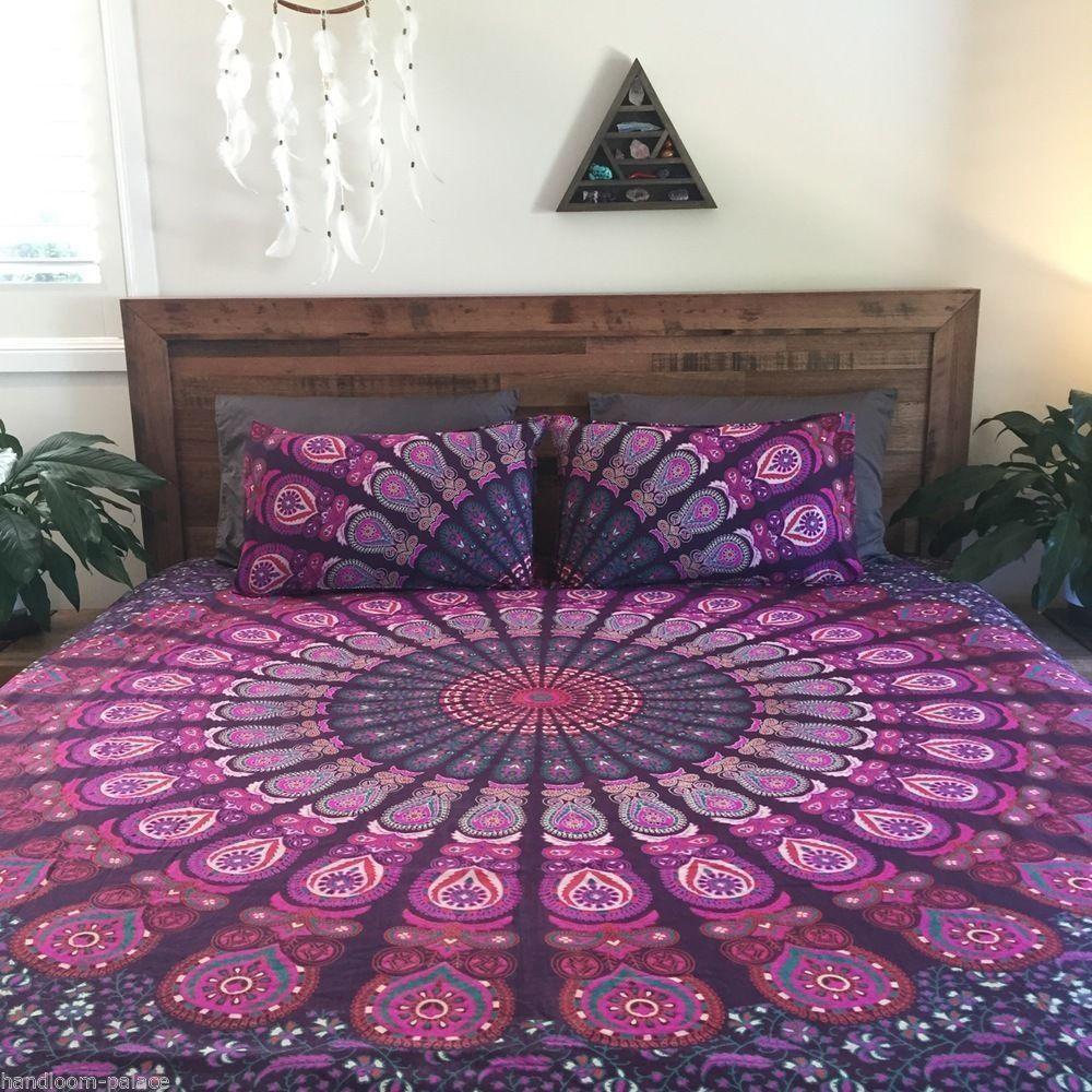 Lovely Indian Inspired Bedding Sets