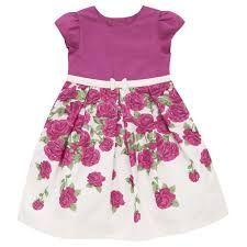 Vestidos estampados de fiesta para ninas