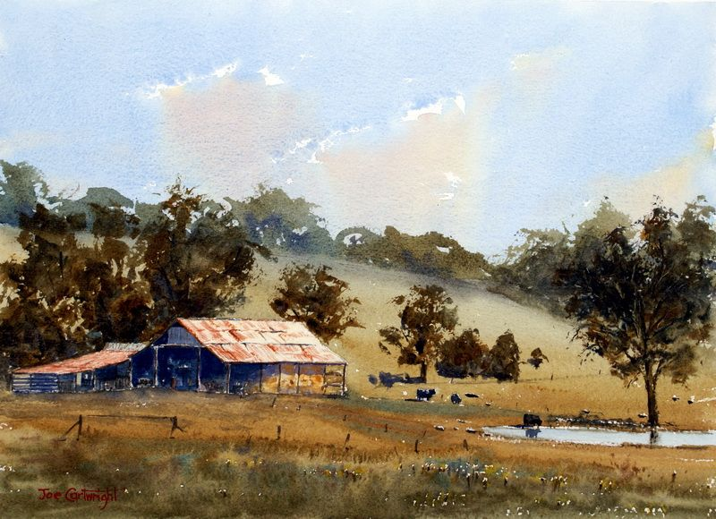 Watercolor Paintings Landscape Gallery Watercolor Landscape