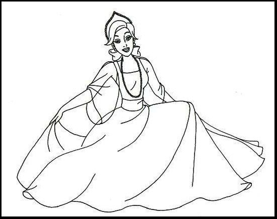 anastasia coloring pages # 2