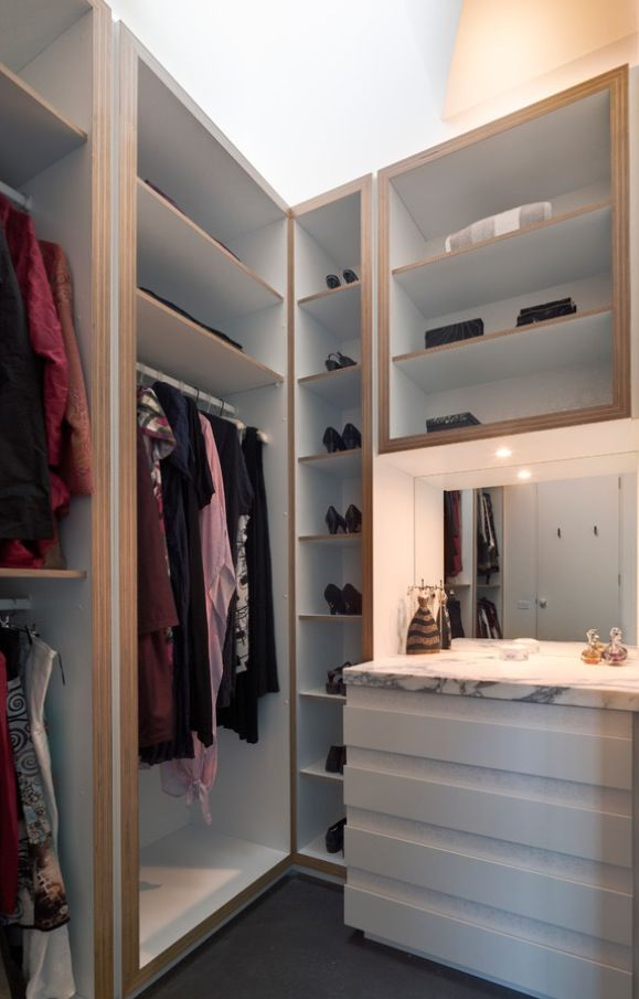 New Lighting for Walk In Closet