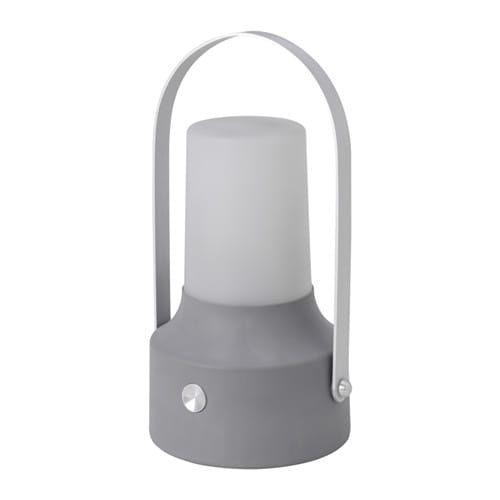 SOLVINDEN Lanterne LED  énergie solaire Gris Pinterest