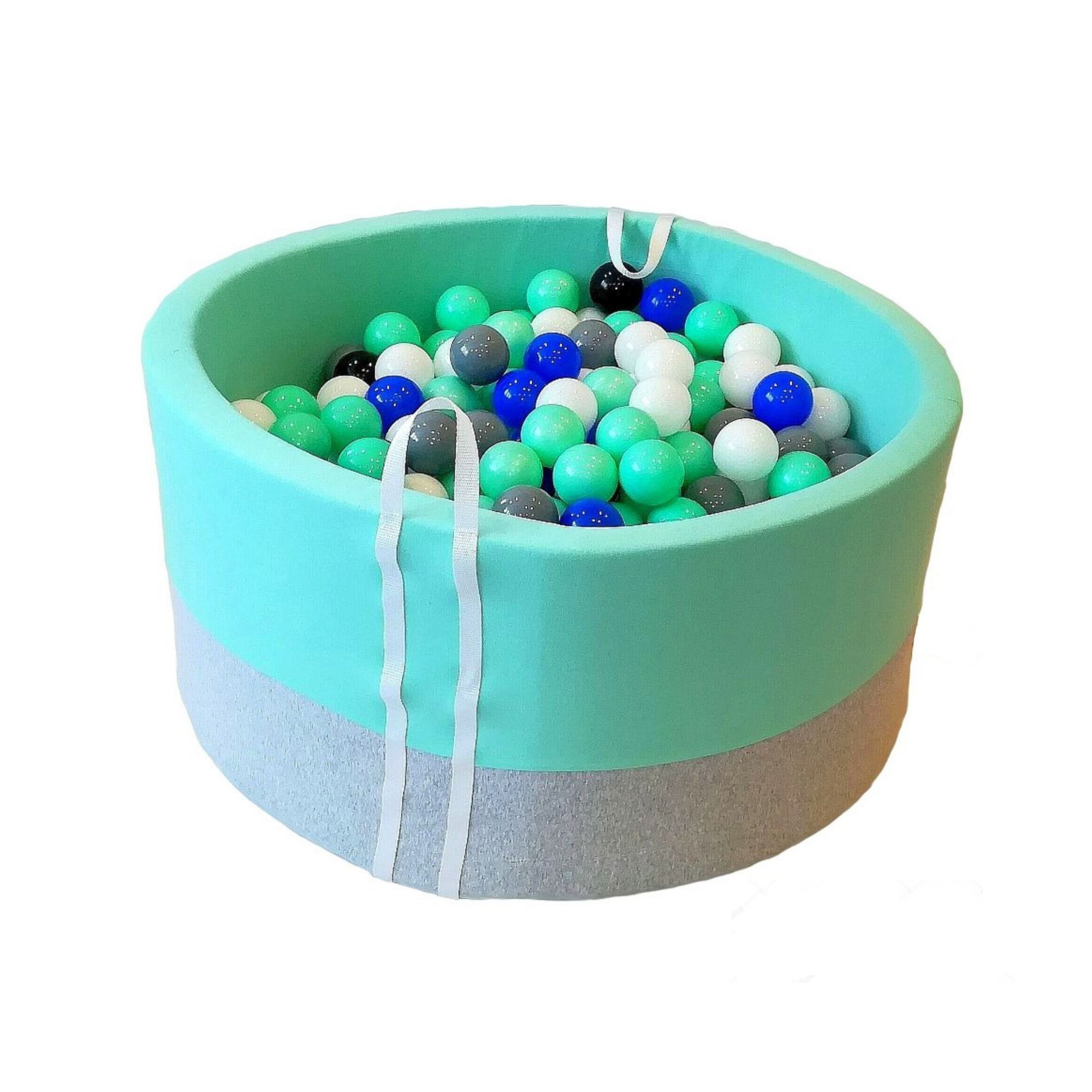 Suchy Basen Z Kulkami Babyball Melanz Z Mieta Zabawa Ktora Sie Nie Nudzi Baby Ball Ball Learning Colors