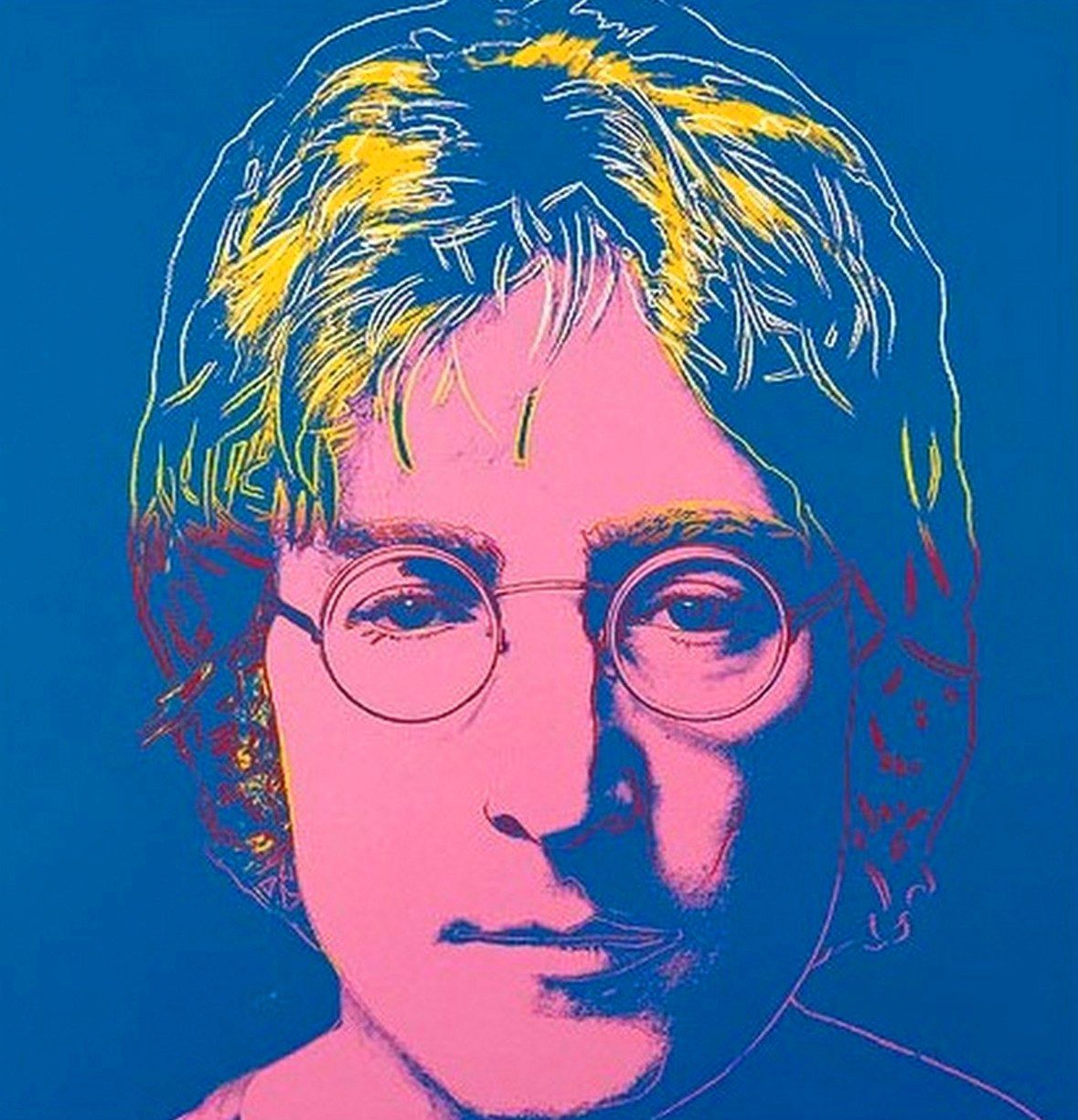 John Lennon By Andy Warhol Pop Art ☆ Pinterest