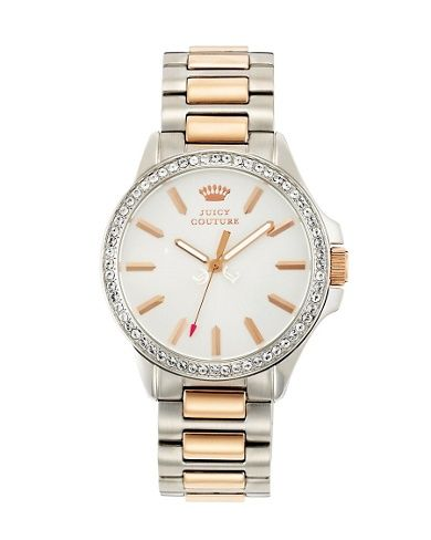 Jetsetter Pink Gold And Silver Watch