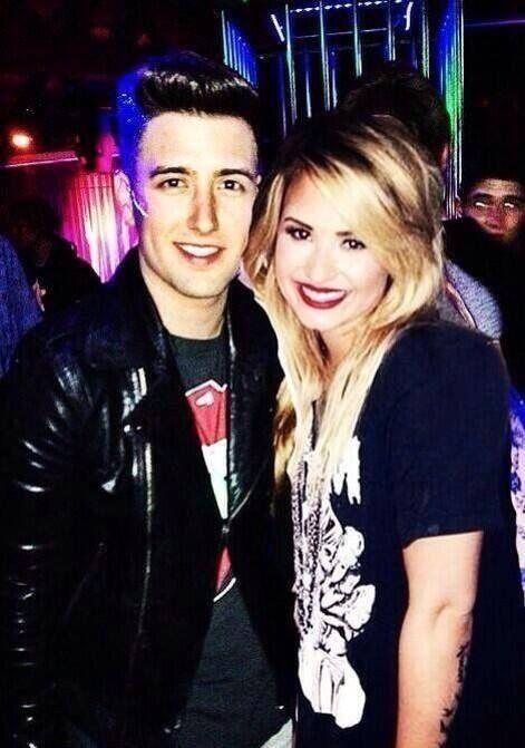 Logan And Demi Lovato3 Big Time Rush Demi Lovato Logan