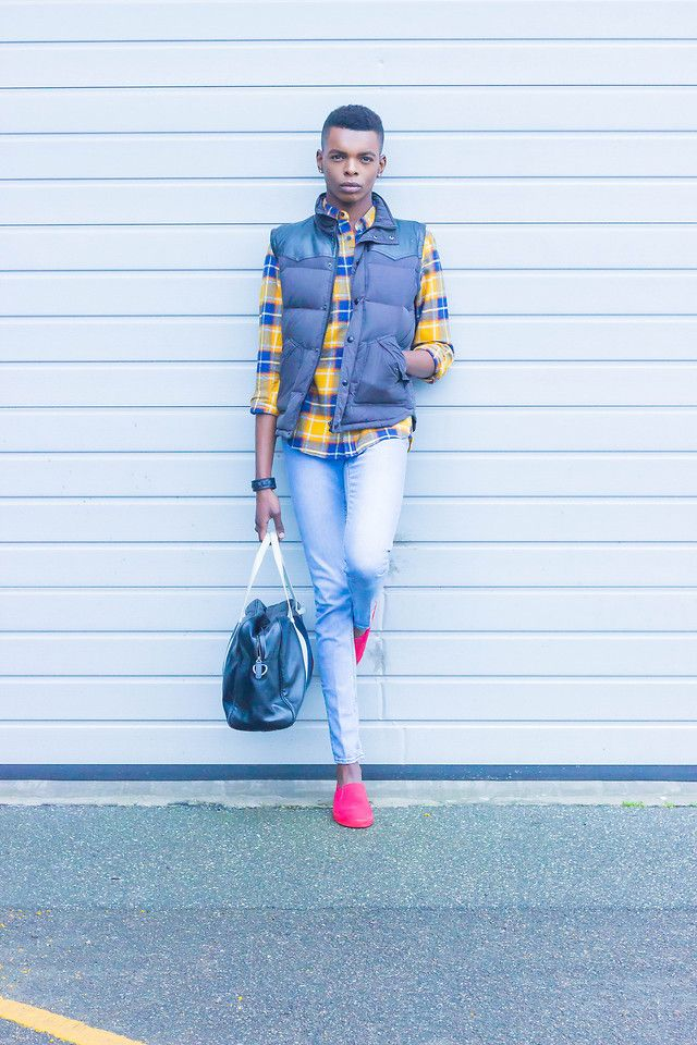 find out outfit details and more photos in my new outfit post on http://niimas.com/2015/11/07/yellow-flannel-tartan-shirt-by-hm/  http://niimas.com/2015/11/07/yellow-flannel-tartan-shirt-by-hm/  http://niimas.com/2015/11/07/yellow-flannel-tartan-shirt-by-hm/