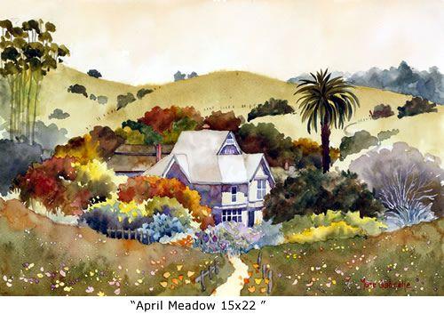 April Meadow 15x22