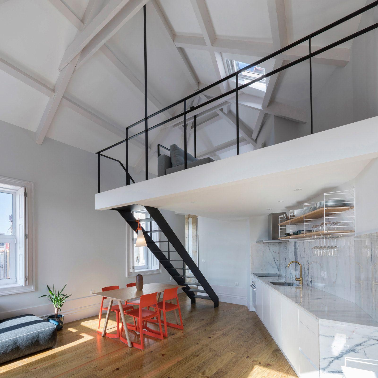 BAAU Architecture Porto, Portugal Apartment interior