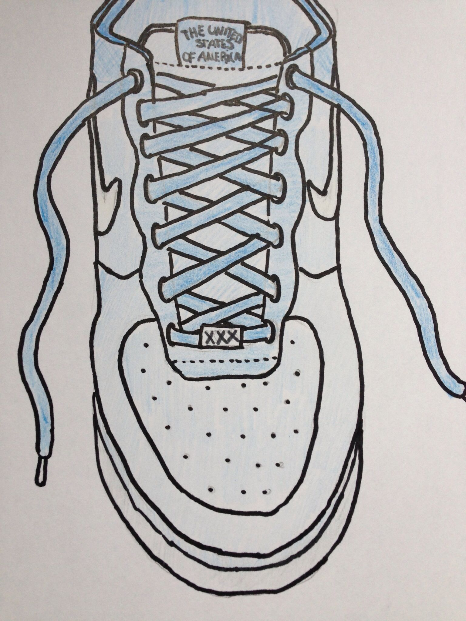 nike air force drawings
