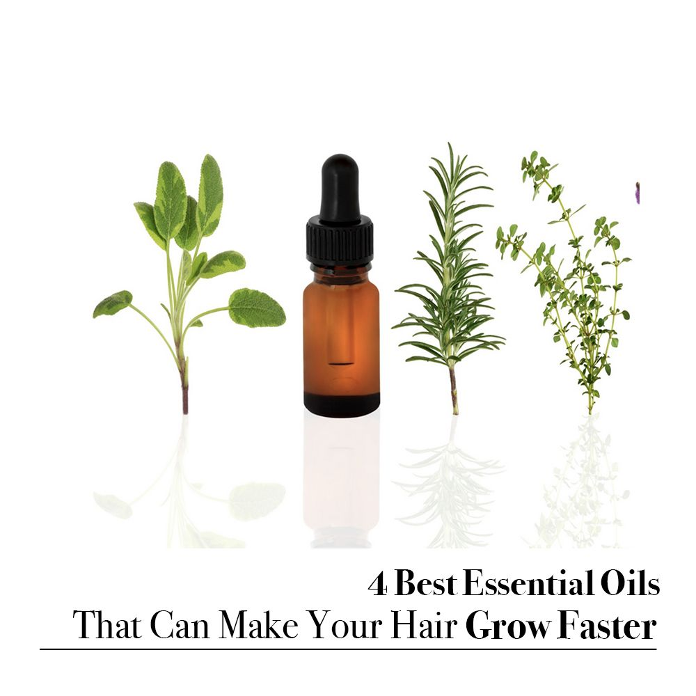 4 Best Essential Oils That Can Make Your Hair Grow Faster