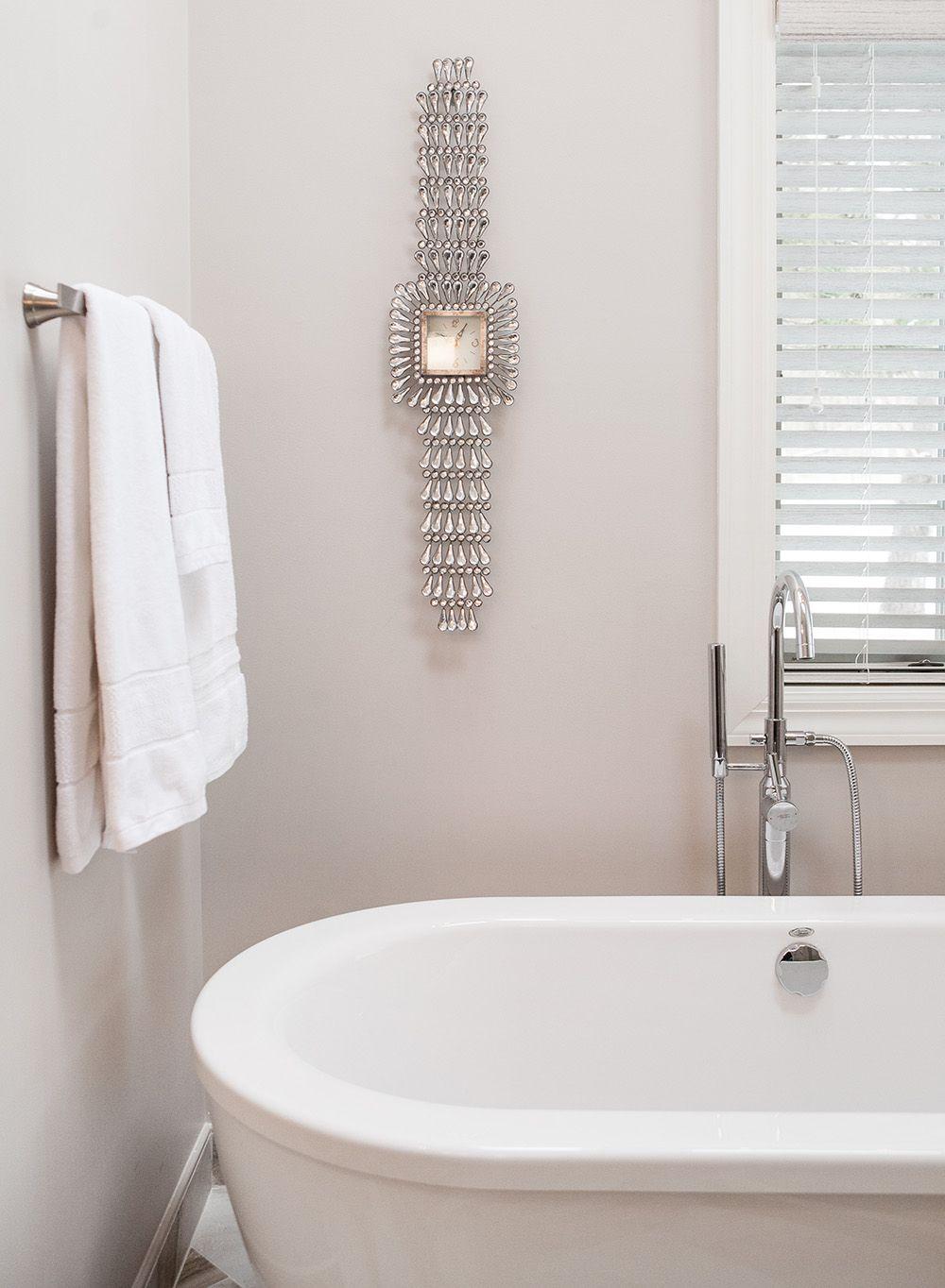 master bath retreat - rochester, ny / tile: artwalk tile / design