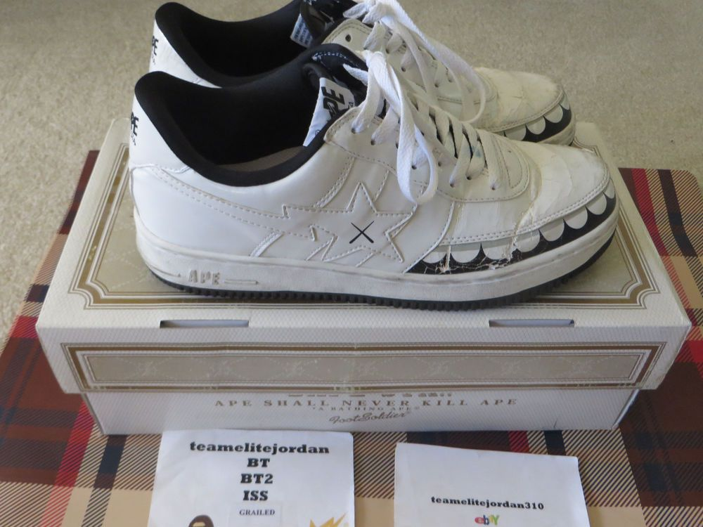8f506af63a8 OG BAPE X KAWS BAPESTA CHOMPERS SOLD OUT INSTANTLY RARE US 10 #fashion  #clothing #shoes #accessories #mensshoes #athleticshoes (ebay link)