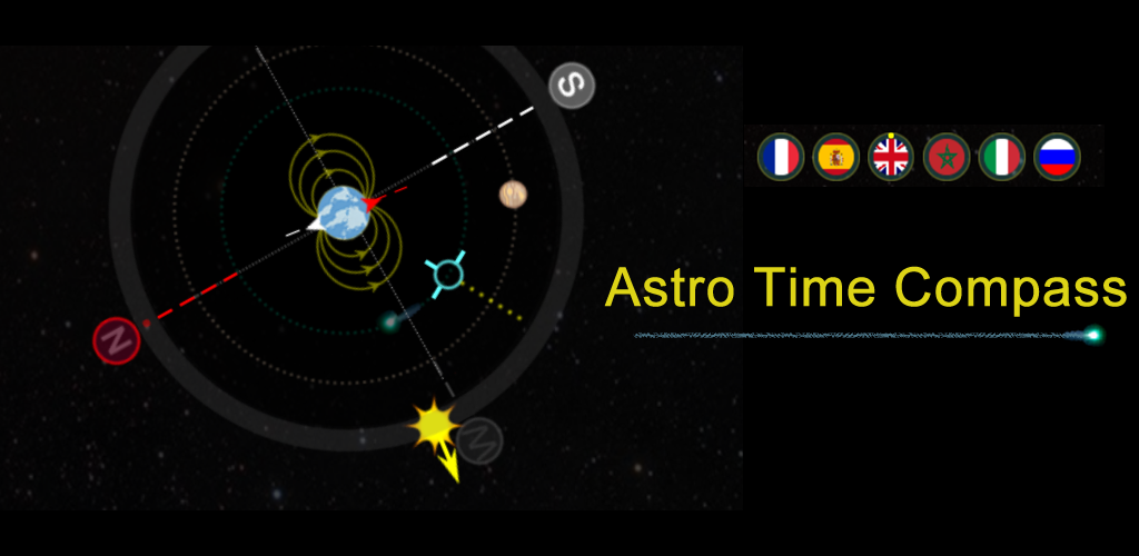 a beautiful compass for all android phones, with astronomy