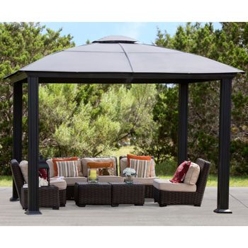 Siena 12 X 12 Hard Top Gazebo Costco 1700 Gazebo Gazebo