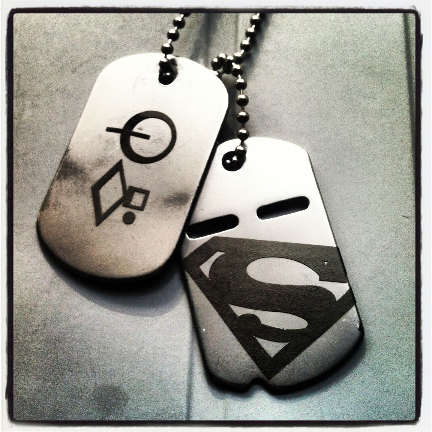 Superman dogtags kryptonian comic book pinterest kryptonian biocorpaavc