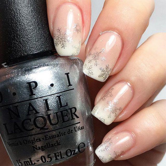 14 Elegant Christmas Nail Designs Snowflake Nails Plaid Nails And