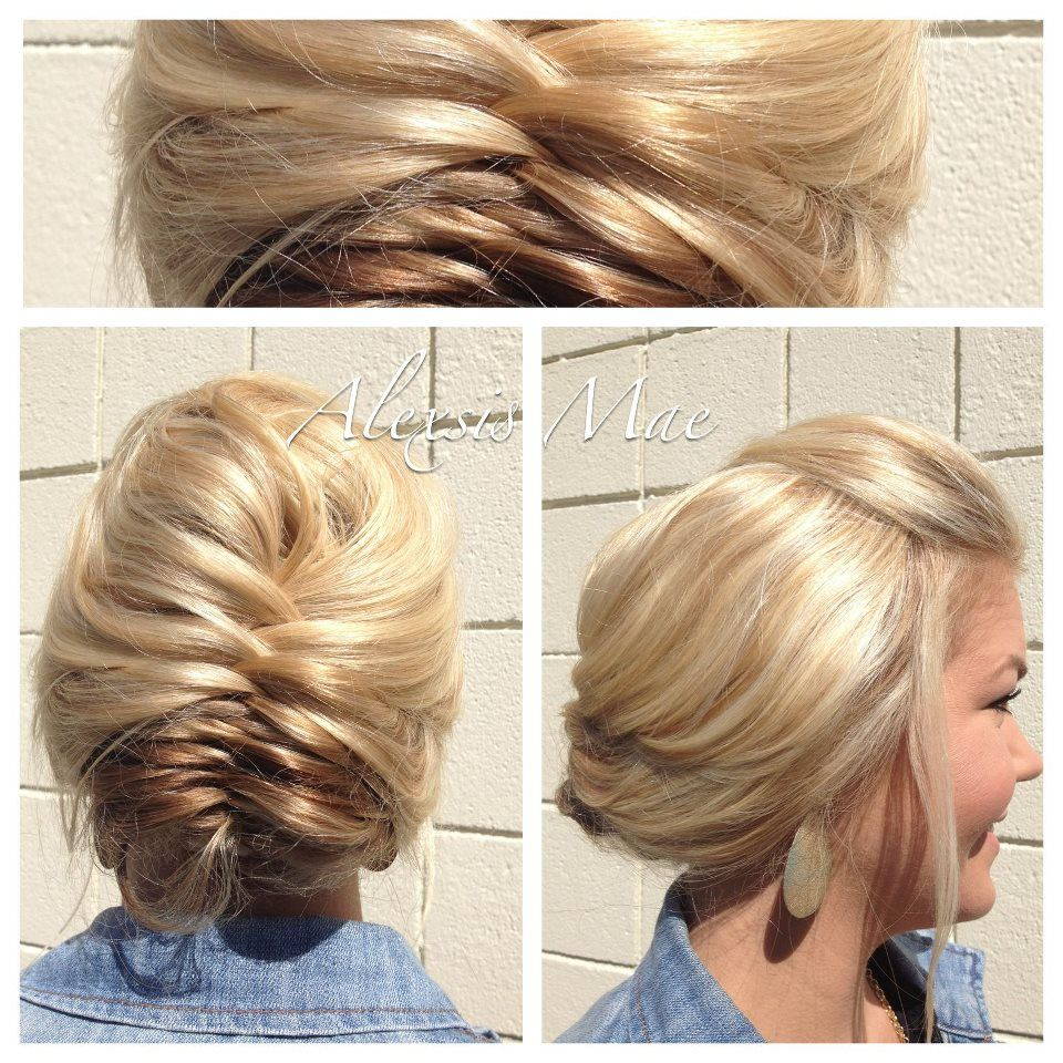 Wedding Hairstyle Nashville: Hayden Panettiere French-Fishtale Updo Featured On The