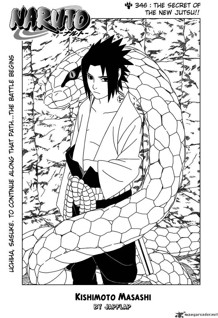 Original manga image. Naruto (c) Masashi Kishimoto