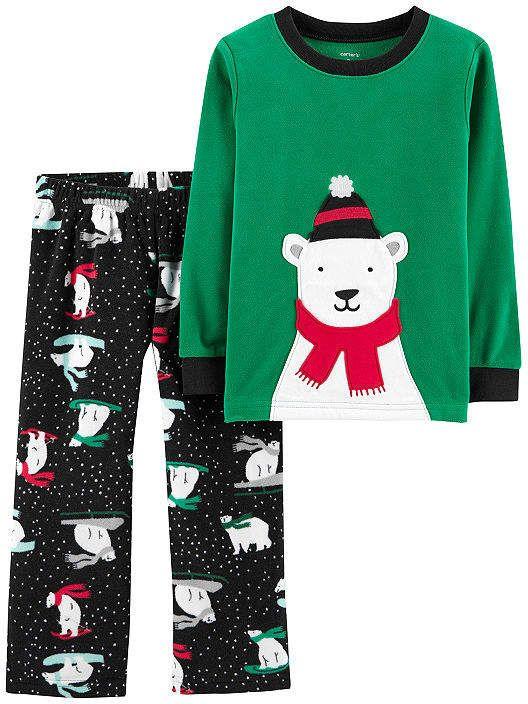 450531c2a Carter s 2-Pc. Holiday Pjs - Toddler 2-pc. Pant Pajama Set Girls ...