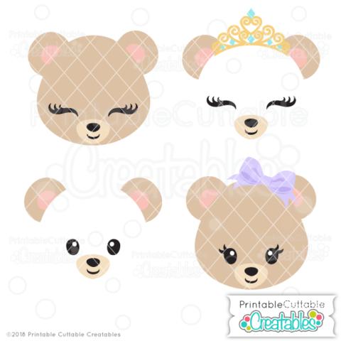Believe In Magic Unicorn Free Svg File For Silhouette Cricut Cute Bears Bear Face Unicorn Face