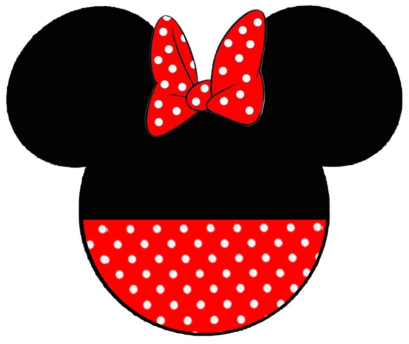 photo relating to Printable Minnie Mouse Head titled Pin by way of Claudia upon Disney Minnie mouse silhouette, Minnie
