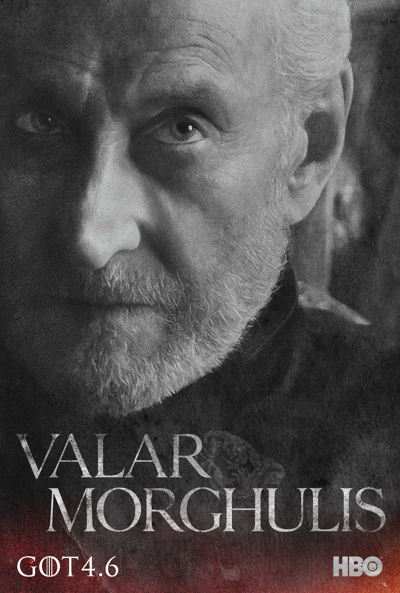 Game Of Thrones Season 4 Character Poster Tywin Lannister With