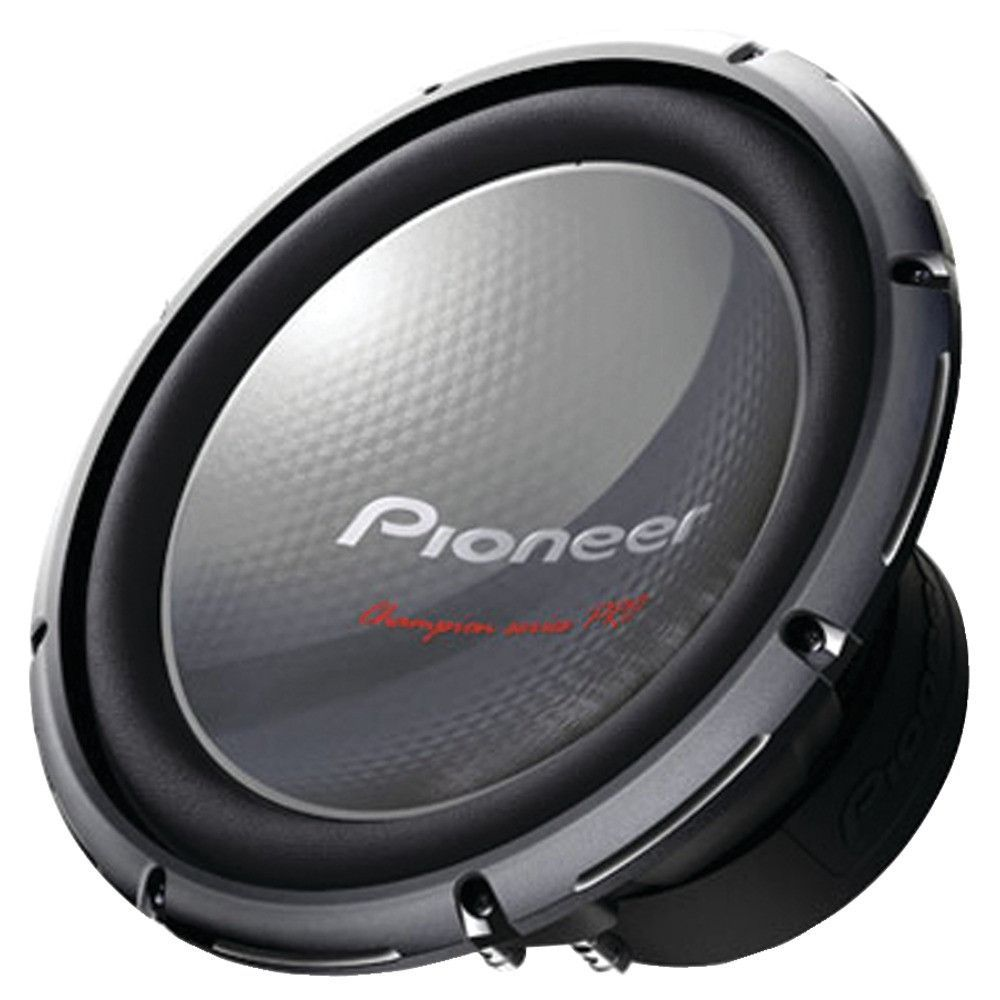 Pioneer Champion Series Pro 12 2000 Watt Subwoofer Boomin Stereos 12quot 1500w Active Car Sub Bass Box Wiring Kit And