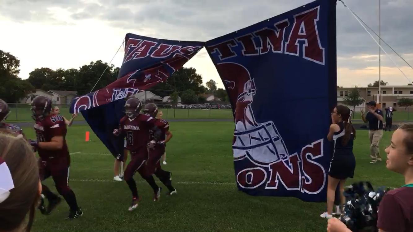 Faustina Academy Falcons Falcons Highschool Football Cheercoach Cheerleader Kickoff Gameday Touchdown Cheer Coaches Cheerleading Falcons