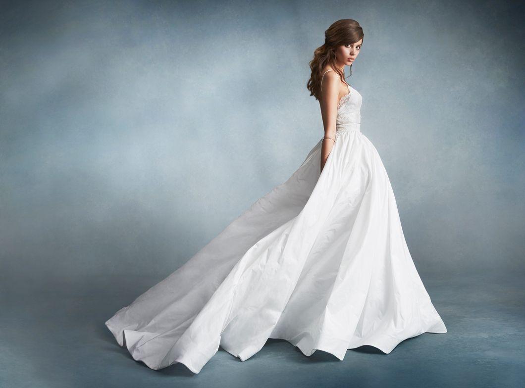 tara-keely-bridal-natural-lace-ballerina-sweetheart-spaghetti ...